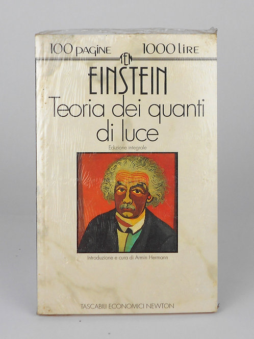 "BOOKS Tascabili Newton N°31 ""HEINTEIN - Teoria dei quanti di luce"""