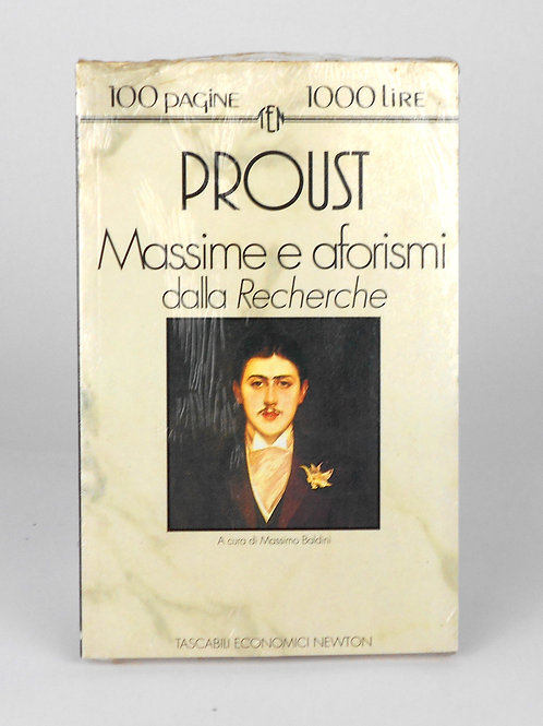 "BOOKS Tascabili Newton N°167 ""PROUST - Massime e aforismi"""