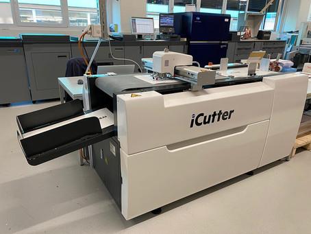 Digitalschneidplotter iCutter bei Werner Druck & Medien AG