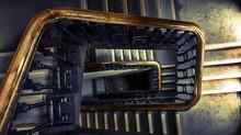 Ordnung und Sicherheit im Treppenhaus
