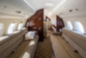 Cat Aviation Falcon 7X JSS Cabin