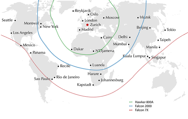 Cat Aviation Fleet Range
