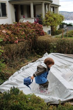 Regenspass.Kinderkrippe