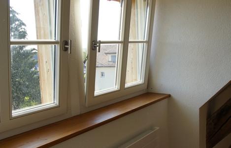 Vorhangschiene & Fenstersims