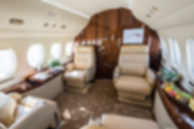 Cat Aviation Falcon 7X JST Cabin