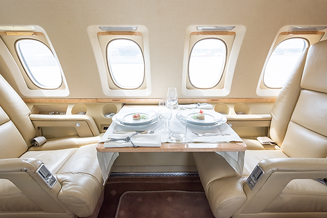 Cat Aviation Hawker 800A Cabin