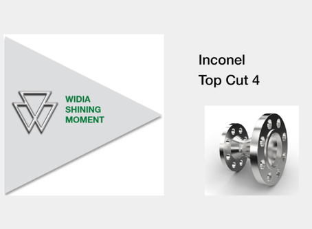 Shining Moment - Top Cut 4 in Inconel