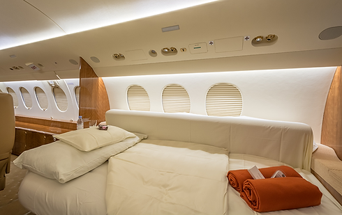 Cat Aviation Falcon 7X JOB Cabin