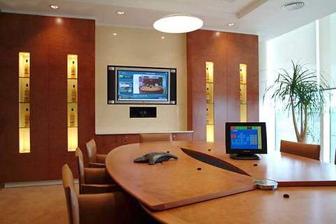 Wohnzimmer mit Homeautomation
