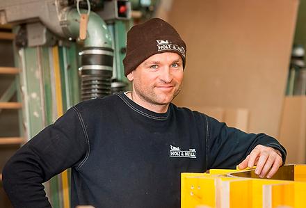 Stefan Hoppler, Inhaber von Holz & Metall