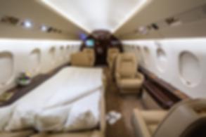 Cat Aviation Falcon 2000EX Cabin