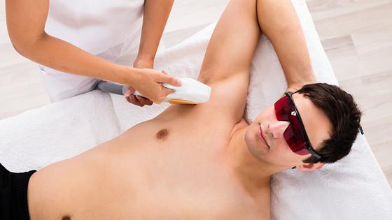 Dauerhafte Haarentfernung mit Lasertechnik