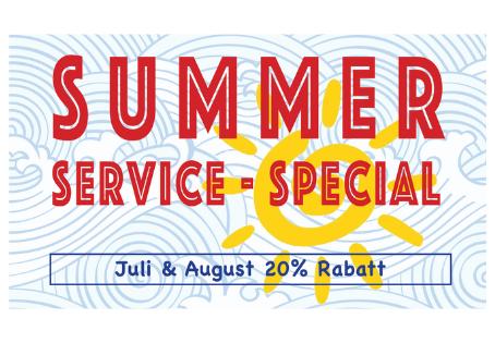 Summer Service - Special