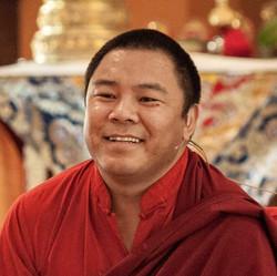 Tulku Jigme Wangdrak close up