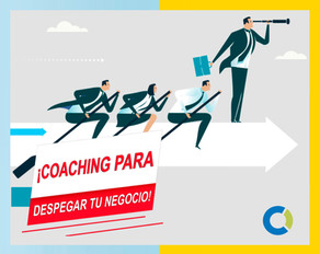 ¡Coaching para despegar tu negocio!