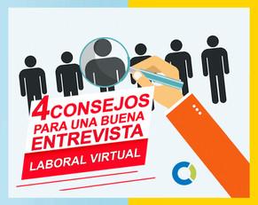 Cómo prepararte para una buena entrevista laboral virtual