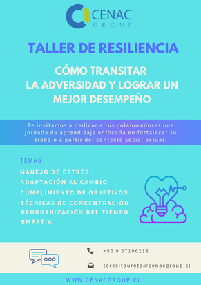 Taller de resiliencia: Cómo transitar la adversidad y lograr un mejor desempeño