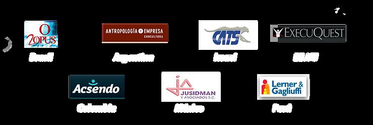 logos con los que se trabajo