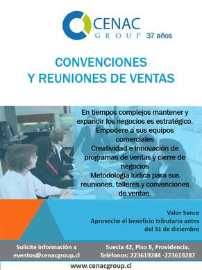 Convenciones y reuniones de ventas