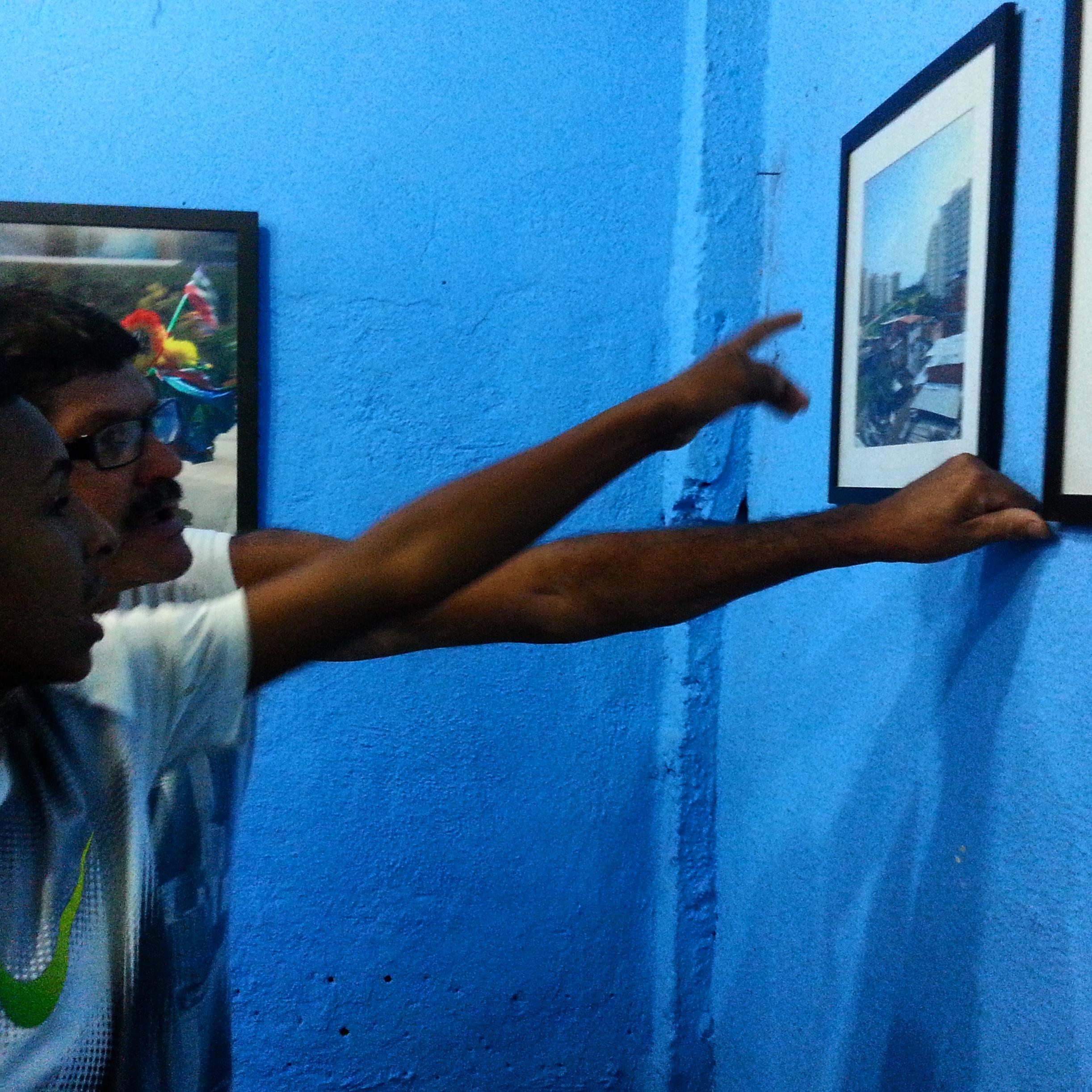 Exposição da fotografa rosa bernarde