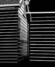 Dessins abstraits  sur les murs de Marken