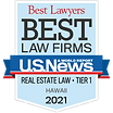 Best Law Firms - HI Tier 1 Badge - Real