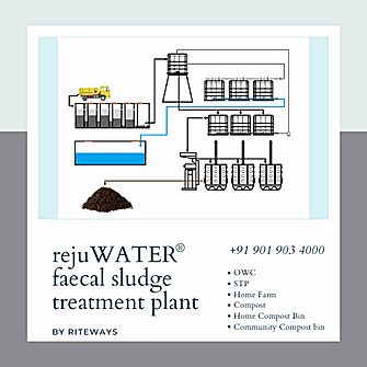 waste treatment Plant for home and apartments