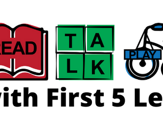 Read, Talk, Play with First 5 Lex!