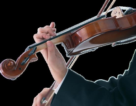 Persona tocando Violín