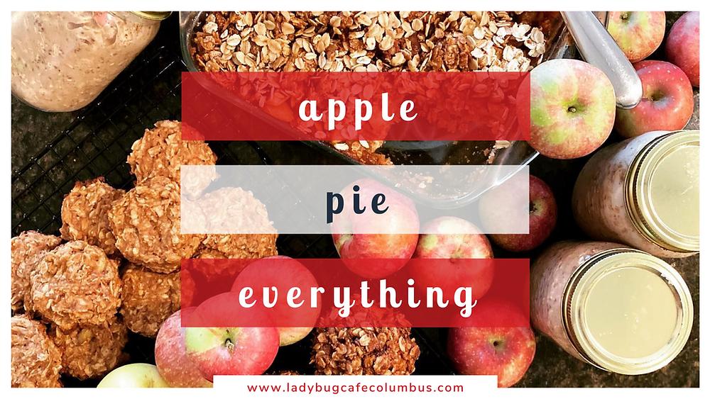 apple pie vegan baked goods