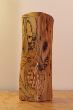 Wood Bones Vessel #2