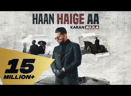 Haan Haige aa (FULL  Lyrics) KARAN AUJLA ft. Gurlez Akhtar I Rupan Bal I Avvy Sra I Latest Song 2020