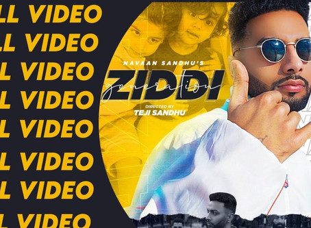 ZIDDI GENERATION | Navaan Sandhu| Teji Sandhu | New Punjabi Songs LYRICS 2020 | Latest Punjabi Song