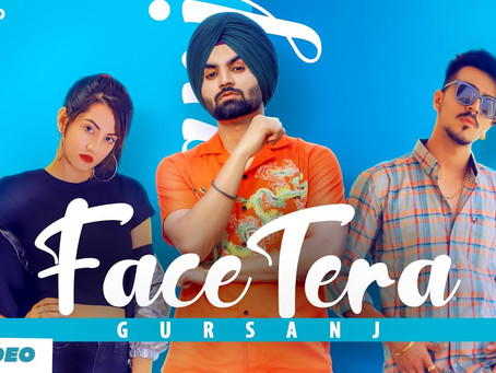 Face Tera ( Full Offiicial Lyrics ) : Gursanj Ft Mr & Mrs Narula | New Punjabi Song 2020 | Big Sound