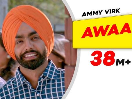 Awaaz Official Punjabi Lyrics | Qismat | Ammy Virk | Sargun Mehta | Kamal Khan | Jaani | B Praak |