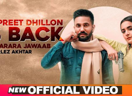 Dilpreet Dhillon Is Back (Full Lyrics) | Karara Jawaab | Ft Gurlez Akhtar | Desi Crew | NewSong 2020