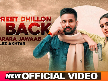 Dilpreet Dhillon Is Back (Full Lyrics) | Karara Jawaab | Ft Gurlez Akhtar | Desi Crew | NewSong 2020