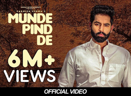 Munde Pind De (Official Punjabi Lyrics) | Parmish Verma | Agam Mann | Latest Punjabi Songs 2020 |