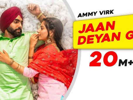 Jaan Deyan Ge (Full Lyrics with PDF )| Sufna | Ammy Virk | Tania | B Praak | Jaani | New Song 2020