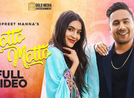Motto Motto (Official Video) Manpreet Manna | Gold Media |Deep Arraicha|Sanghera| New Punjabi Songs