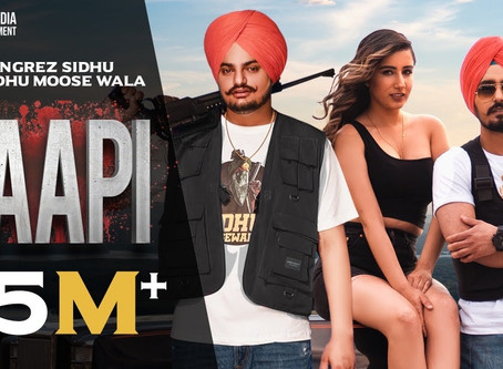 Paapi (Full LYRICS) Rangrez Sidhu | Sidhu Moose Wala | Kidd | Gold Media | Latest Punjabi Songs 2020