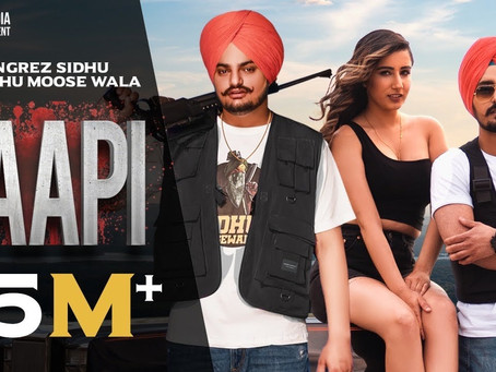 Paapi (Full LYRICS) Rangrez Sidhu | Sidhu Moose Wala | Kidd | Gold Media | Latest Punjabi Songs 2020