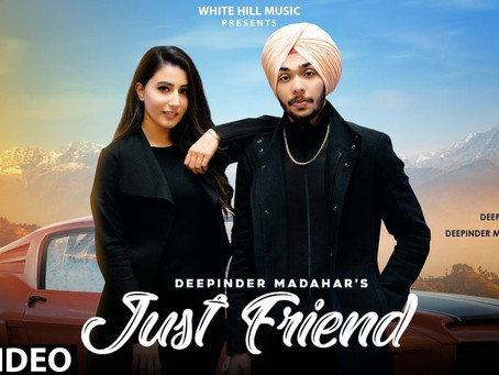 Just Friend (Full Song Lyrics in English & Punjabi) | Deepinder Madahar | New Song 2020 |