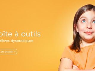 """Le site du """"Cartable fantastique"""" est une MINE D'OR pour aider l'enfant dyspraxiqu"""
