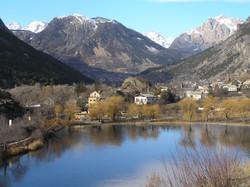 Lac de Laroche de Rame