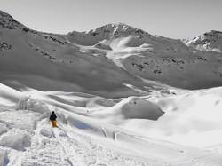 Ski touring in Verbier