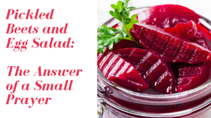 pickled beets; hilary hamblin author; answer of a small prayer