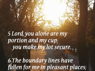 Drawing the Boundary Lines of  Blessed Life
