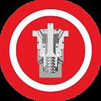 Blipper valves for hydraulic legs