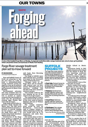 Newsday Article